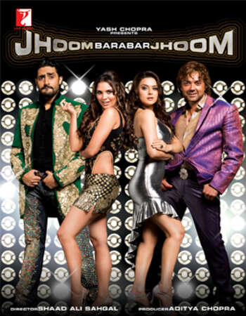 Jhoom Barabar Jhoom 2007 Hindi 720p HDRip ESubs