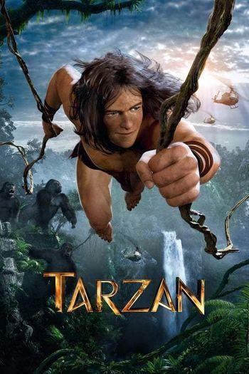 Poster of Tarzan 2013 Full Hindi Dual Audio Movie Download BluRay Hd 720p
