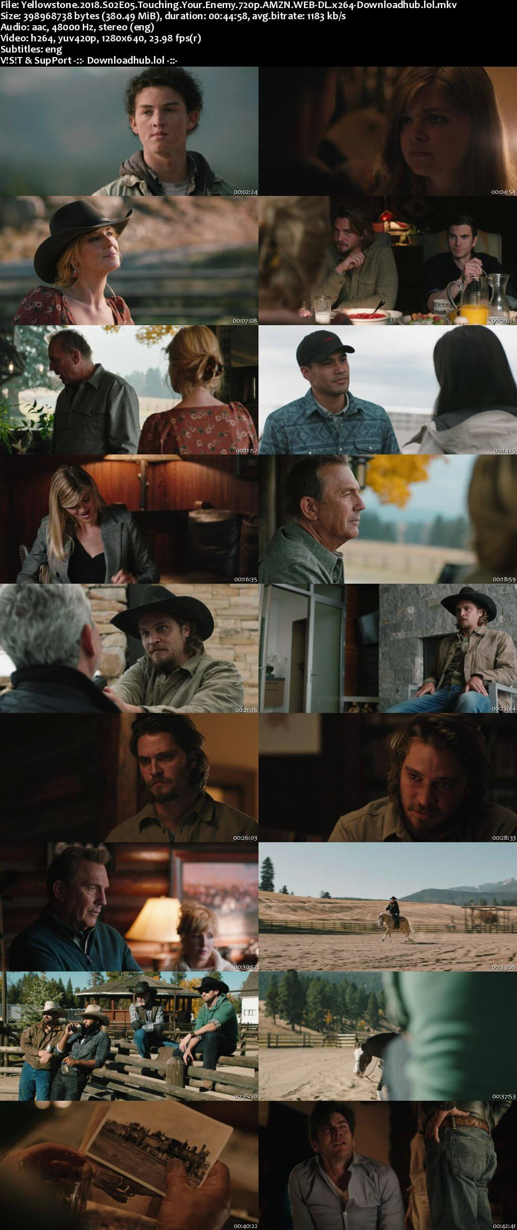 Yellowstone S02E05 350MB AMZN WEB-DL 720p ESubs
