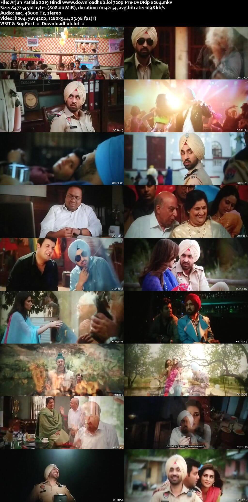 Arjun Patiala 2019 Hindi 720p Pre-DVDRip x264