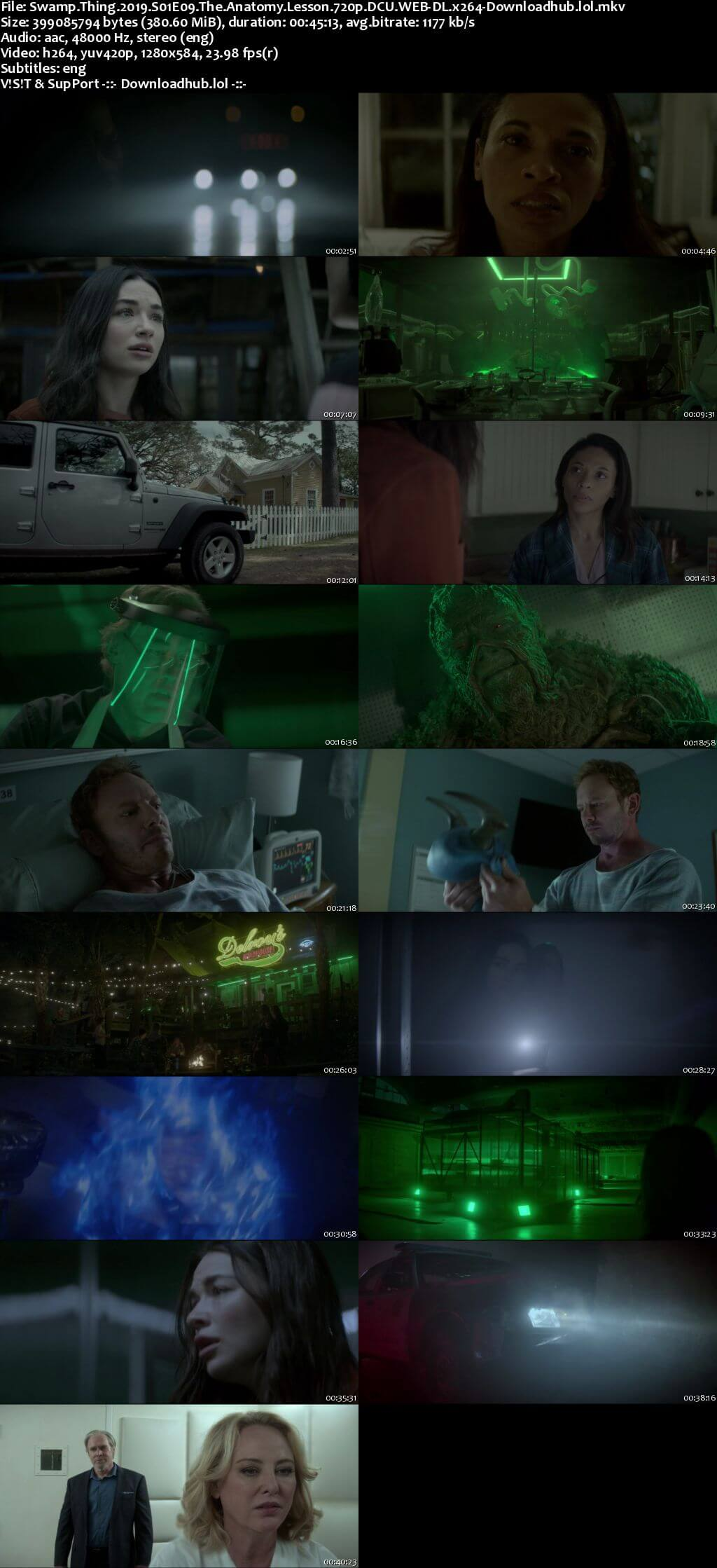 Swamp Thing S01E09 350MB WEB-DL 720p ESubs