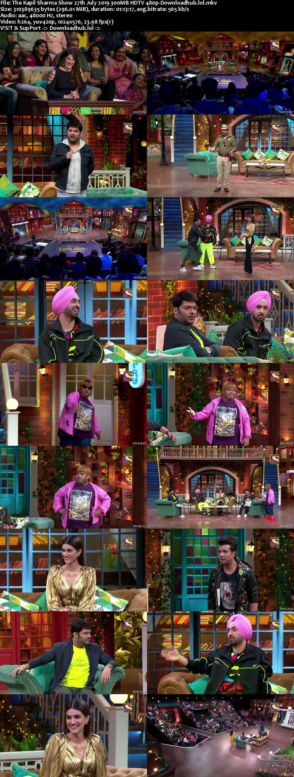 The Kapil Sharma Show 27 July 2019 Episode 60 HDTV 480p