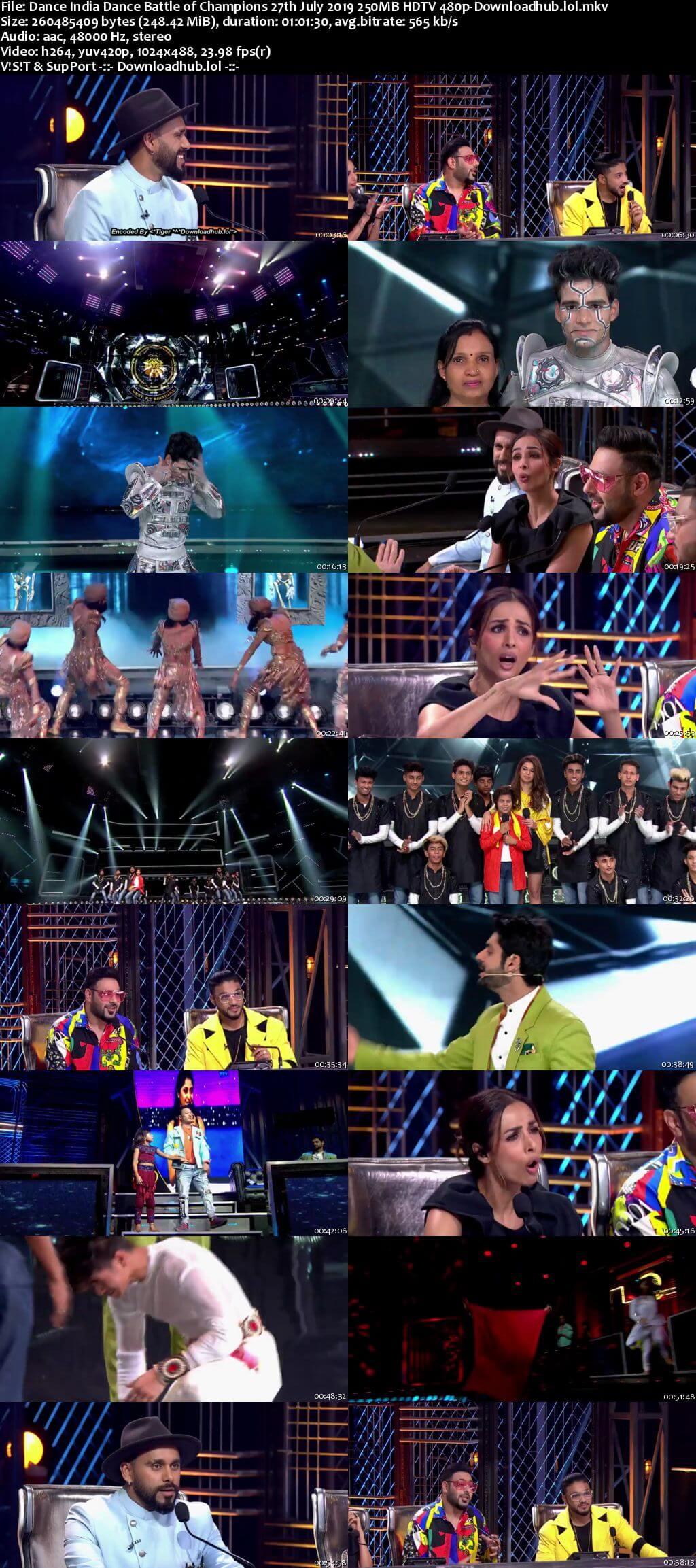 Dance India Dance 27 July 2019 Episode 11 HDTV 480p