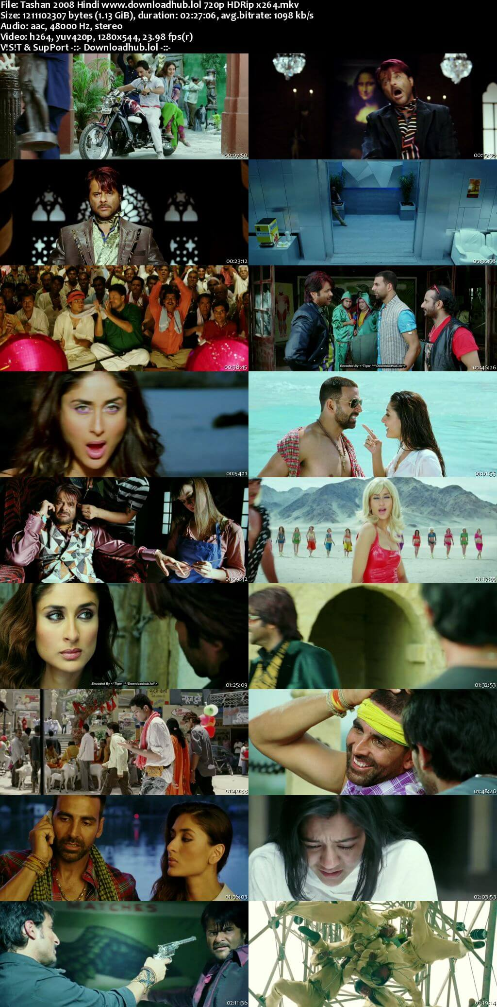 Tashan 2008 Hindi 720p HDRip x264