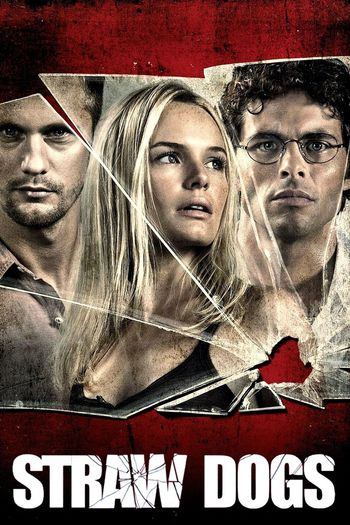 Poster of Straw Dogs 2011 Full Hindi Dual Audio Movie Download BluRay Hd 720p