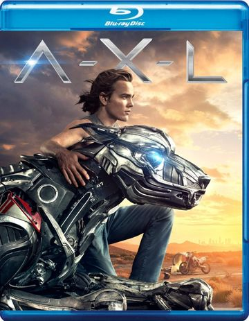 Poster of A-X-L 2018 Full Hindi Dual Audio Movie Download BluRay Hd 480p