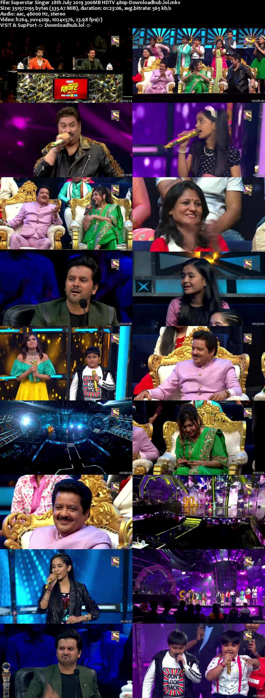 Superstar Singer 28 July 2019 Episode 10 HDTV 480p