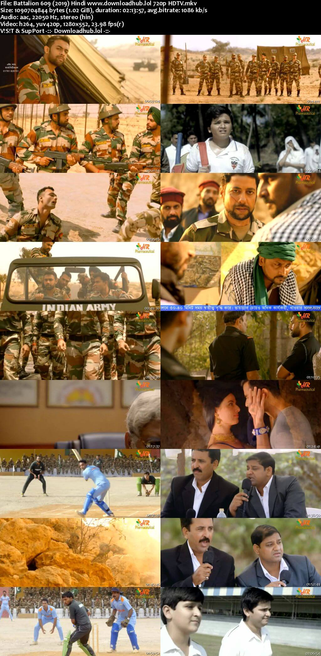 Battalion 609 2019 Hindi 720p HDTV x264