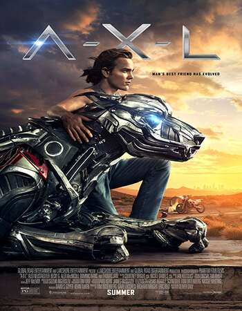 A-X-L 2018 Hindi Dual Audio BRRip Full Movie 720p HEVC Download