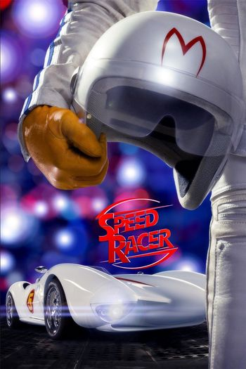 Poster of Speed Racer 2008 Full Hindi Dual Audio Movie Download BluRay HD Movies point 720p