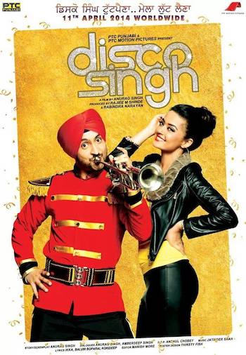 Disco Singh 2014 Hindi Dubbed 720p HDRip 1GB