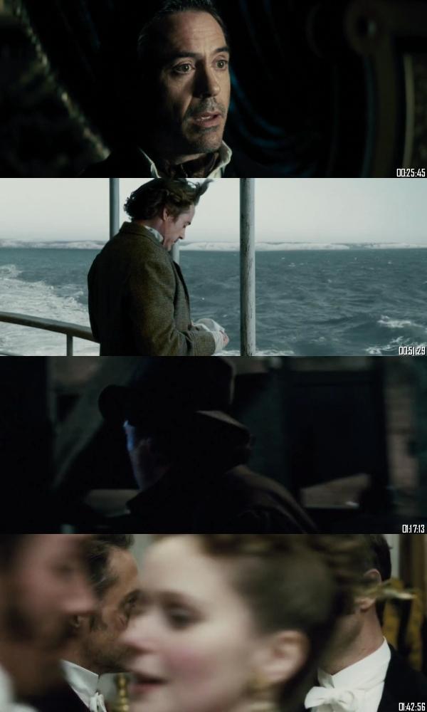 Sherlock Holmes A Game Of Shadows 2011 BRRip 720p 480p Dual Audio Hindi English Full Movie Download