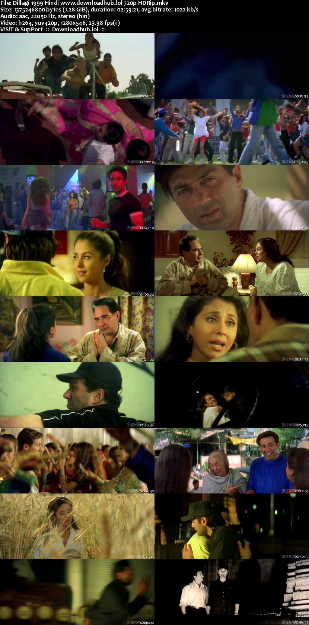 Dillagi 1999 Hindi 720p HDRip x264