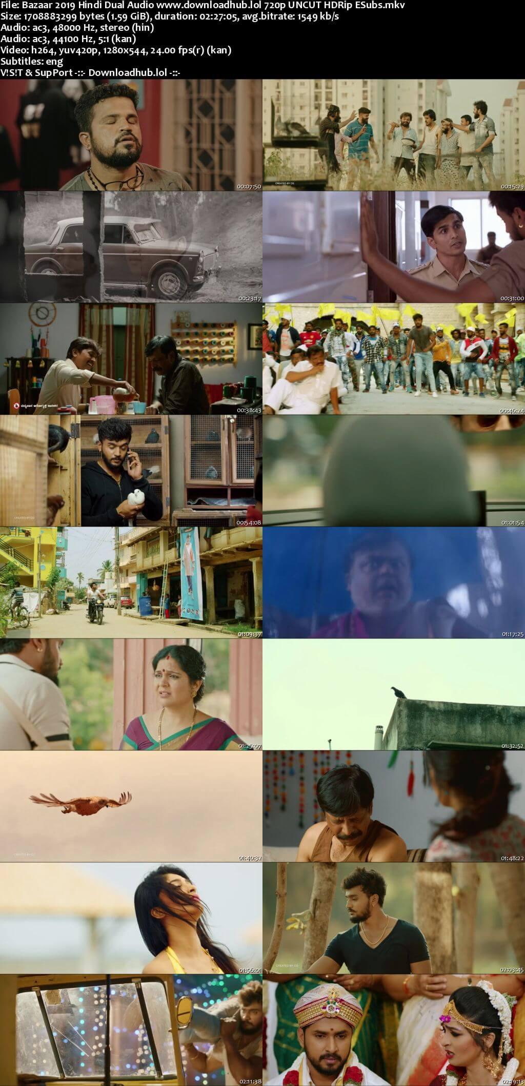 Bazaar 2019 Hindi Dual Audio 720p UNCUT HDRip ESubs