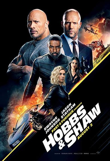 Poster of Fast & Furious Presents: Hobbs & Shaw 2019 Full English Free Download Watch Online In HD Movie Download 720p HDCAM