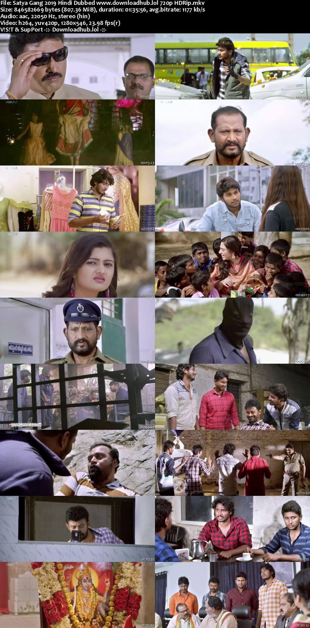 Satya Gang 2019 Hindi Dubbed 720p HDRip x264