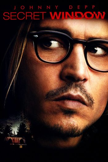 Poster of Secret Window 2004 Full Hindi Dual Audio Movie Download BluRay HD Movies point 720p