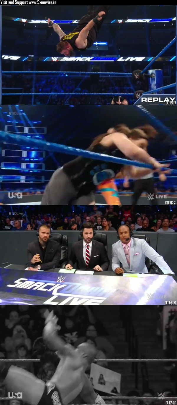 WWE Smackdown Live 30 July 2019 HDTV 720p 480p 300MB