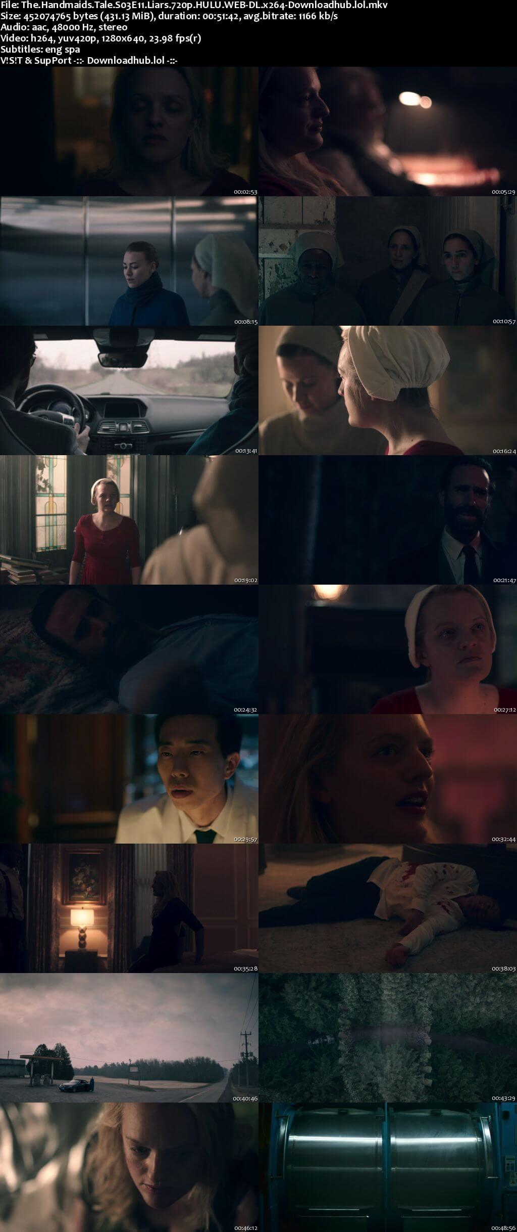 The Handmaids Tale S03E11 400MB WEB-DL 720p ESubs