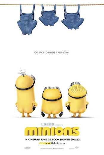 Minions 2015 Dual Audio Hindi English BRRip 720p Movie Download