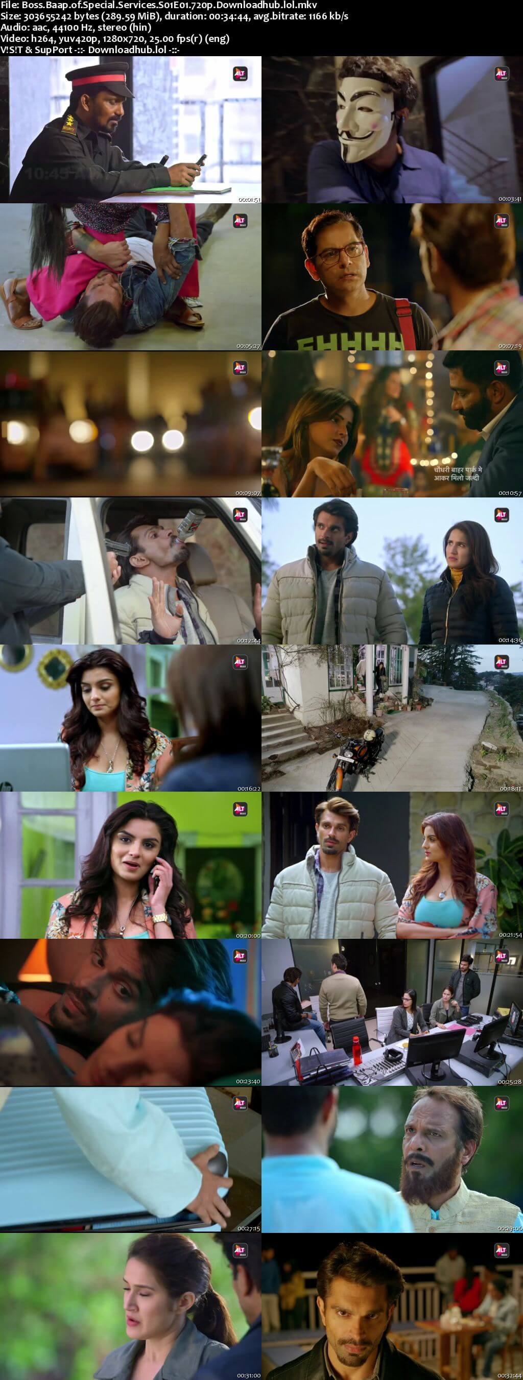Boos Baap of Special Services Hindi Season 01 Complete 720p HDRip x264