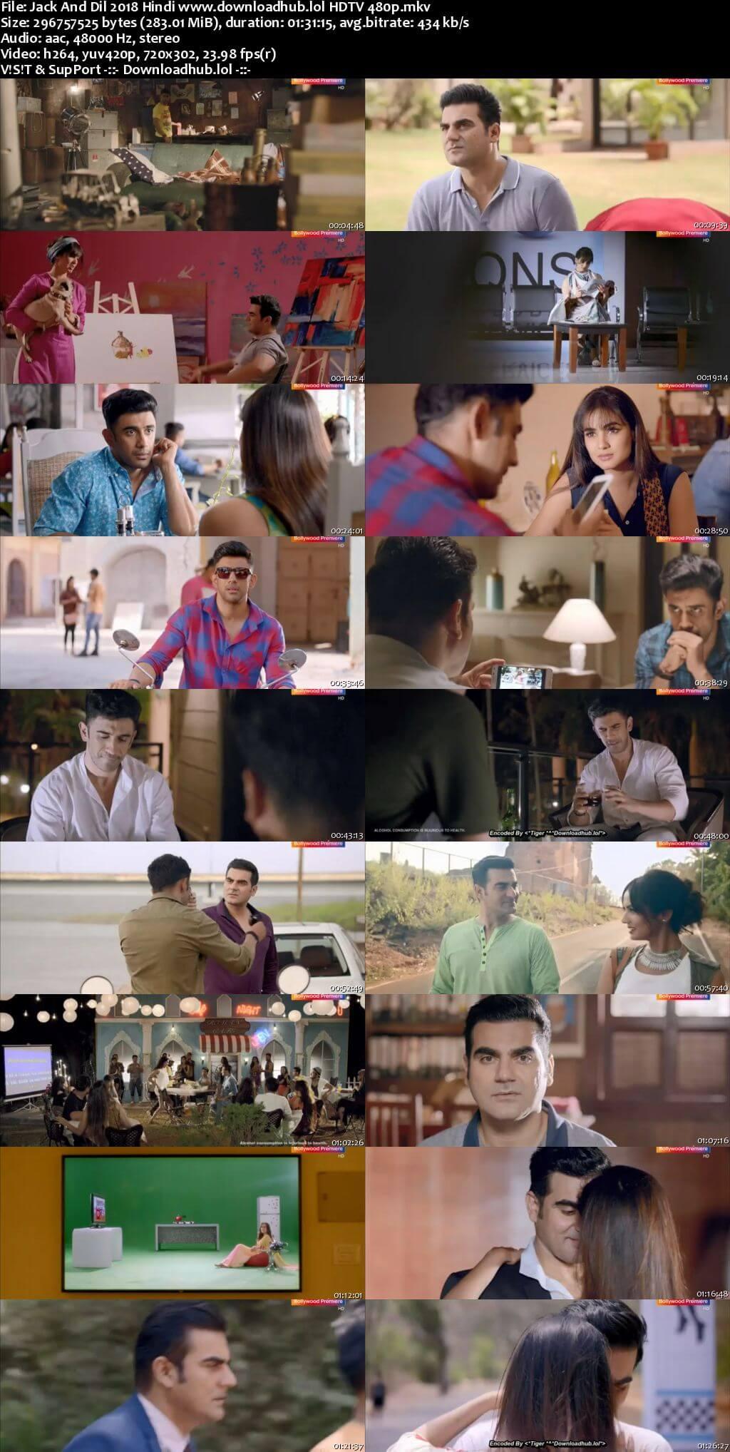 Jack And Dil 2018 Hindi 280MB HDTV 480p