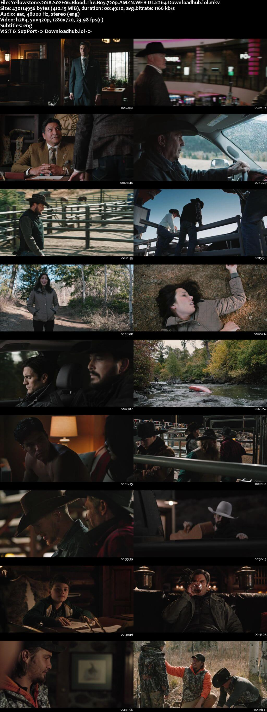 Yellowstone S02E06 400MB AMZN WEB-DL 720p ESubs