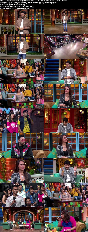 The Kapil Sharma Show 03 August 2019 Episode 62 HDTV 480p