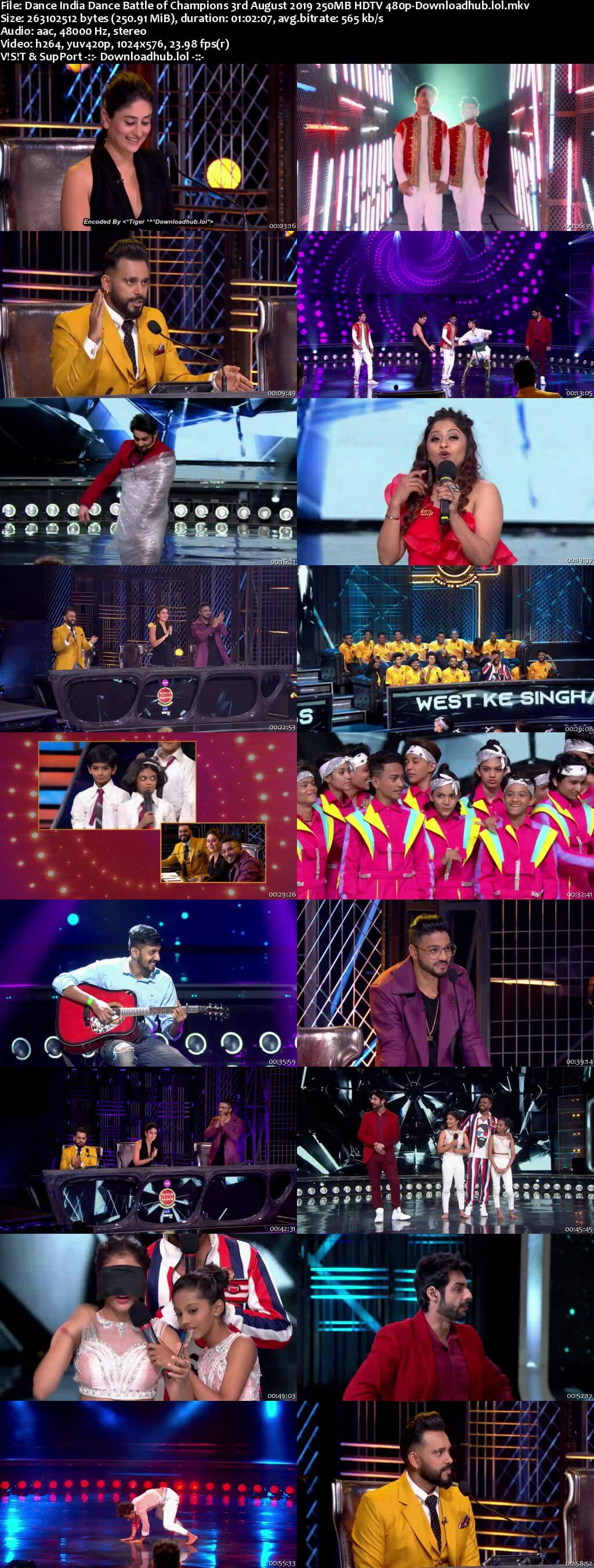 Dance India Dance 03 August 2019 Episode 13 HDTV 480p