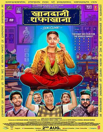 Khandaani Shafakhana 2019 Full Hindi Movie 720p pDVDRip Download