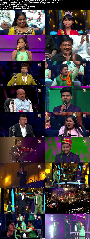 Superstar Singer 03 August 2019 Episode 11 HDTV 480p