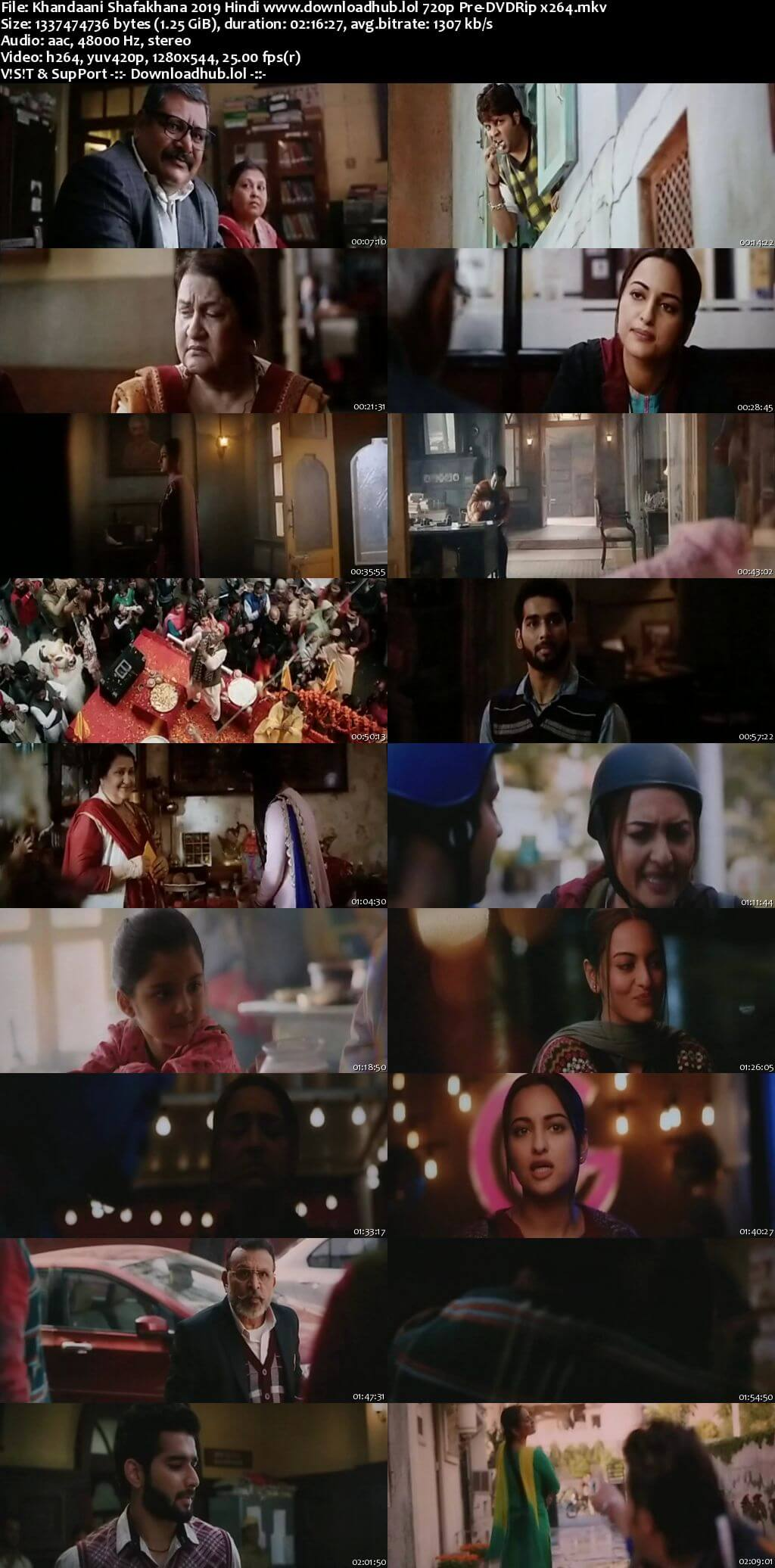 Khandaani Shafakhana 2019 Hindi 720p Pre-DVDRip x264