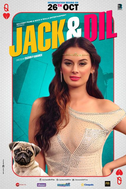 Poster of Jack And Dil 2018 Full Hindi Free Download Watch Online In HD Movie Download 720p HDTV