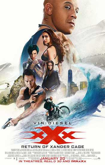 xXx Return Of Xander Cage 2017 Dual Audio Hindi English BRRip 480p Movie Download
