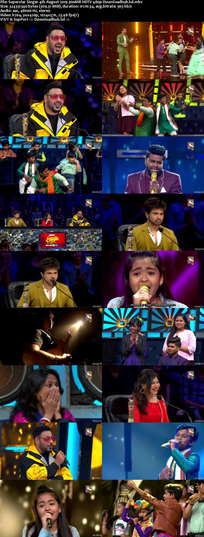 Superstar Singer 04 August 2019 Episode 12 HDTV 480p