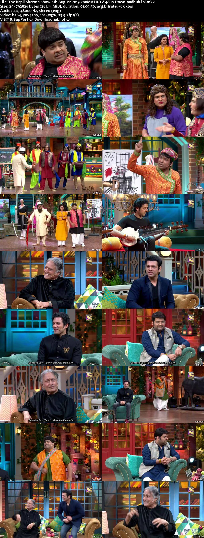 The Kapil Sharma Show 04 August 2019 Episode 63 HDTV 480p
