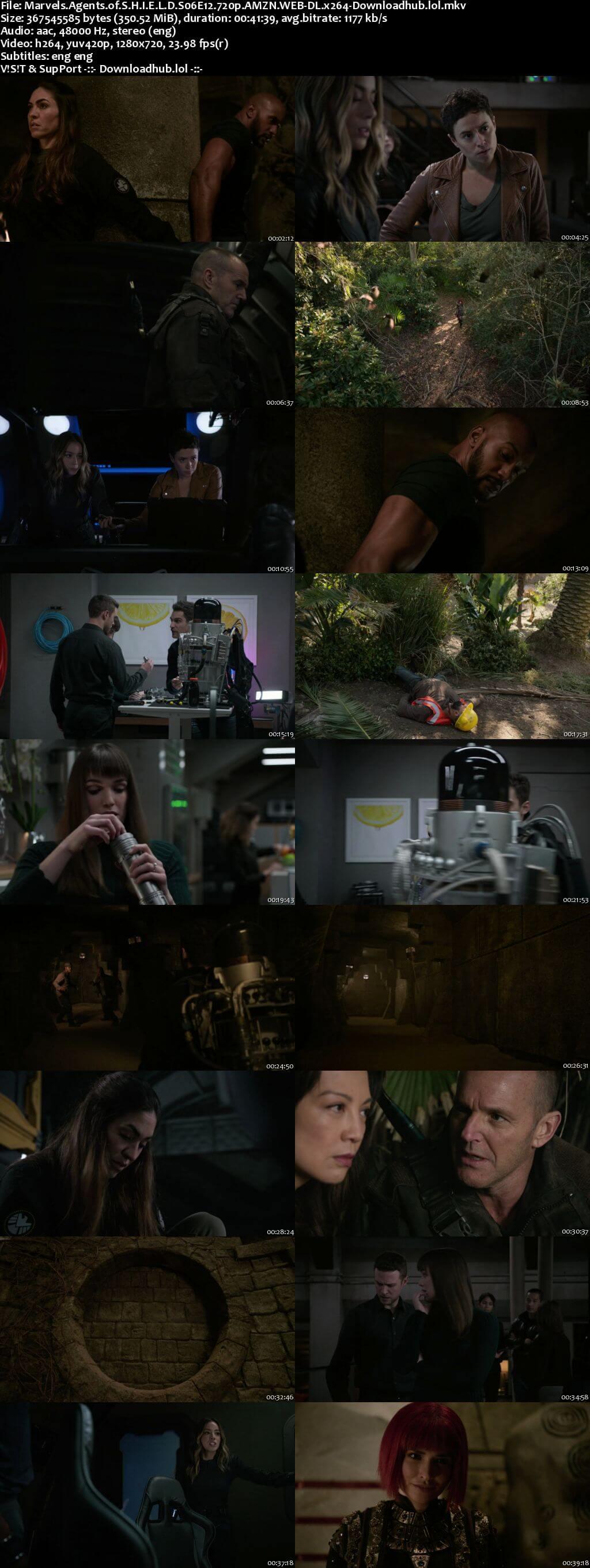 Marvels Agents of S.H.I.E.L.D S06E12 350MB AMZN WEB-DL 720p ESubs