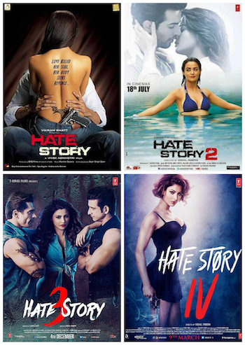 Hate Story Collection (2012-2018) All Movies Hindi Full Movie Download