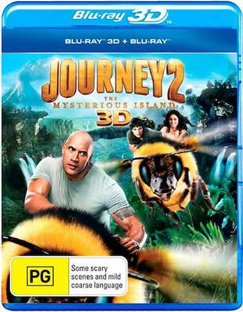 Journey 2 The Mysterious Island 2012 Dual Audio Hindi 720p BluRay 800mb