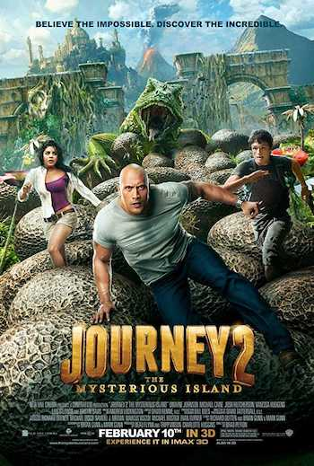 Journey 2 The Mysterious Island 2012 Dual Audio Hindi English BRRip 480p Movie Download
