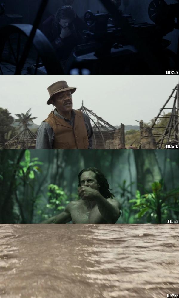 The Legend Of Tarzan 2016 BRRip 720p 480p Dual Audio Hindi English Full Movie Download