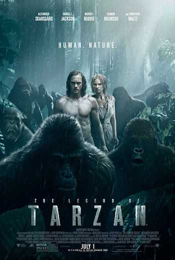 The Legend Of Tarzan 2016 Dual Audio Hindi English BRRip 720p Movie Download