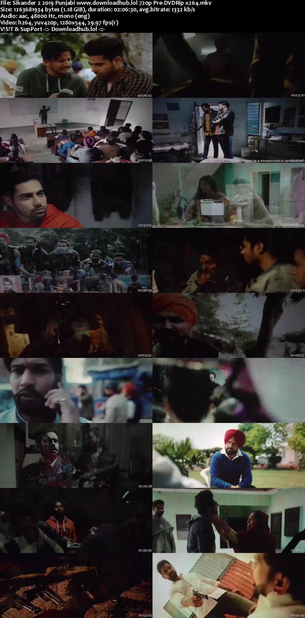 Sikander 2 2019 Punjabi 720p Pre-DVDRip x264
