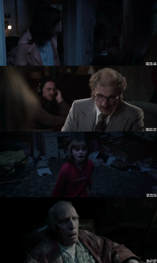 The Conjuring 2 (2016) BRRip 720p 480p Dual Audio Hindi English Full Movie Download