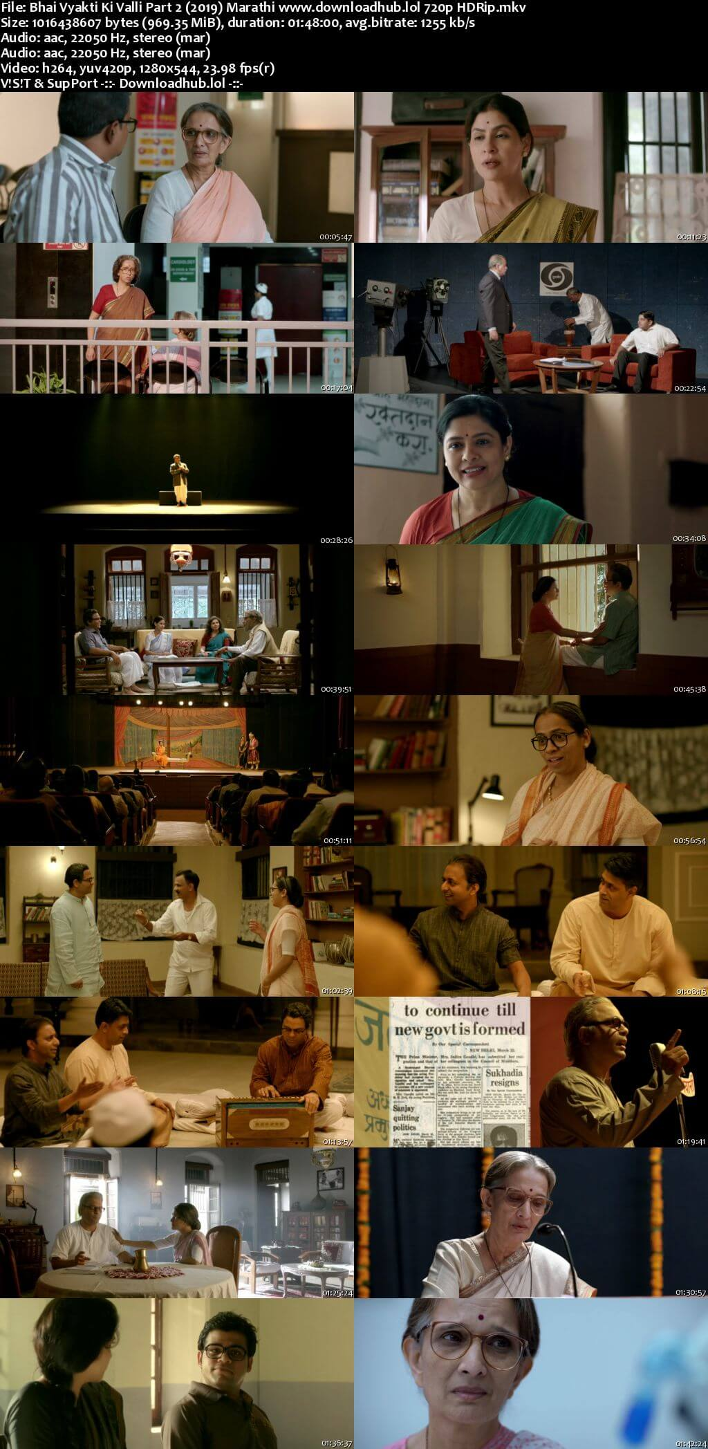 Bhai Vyakti Ki Valli Part 2 2019 Marathi 720p HDRip ESubs