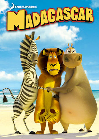 Madagascar 2005 Dual Audio Hindi 720p BluRay 750mb