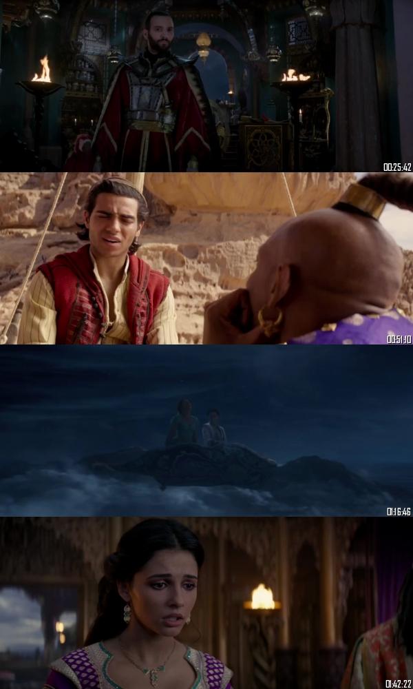 Aladdin 2019 HDRip 720p 480p Dual Audio Hindi English Full Movie Download