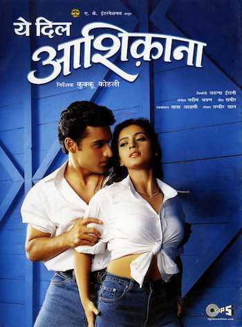 Yeh Dil Aashiqanaa 2002 Hindi 720p DVDRip 1GB
