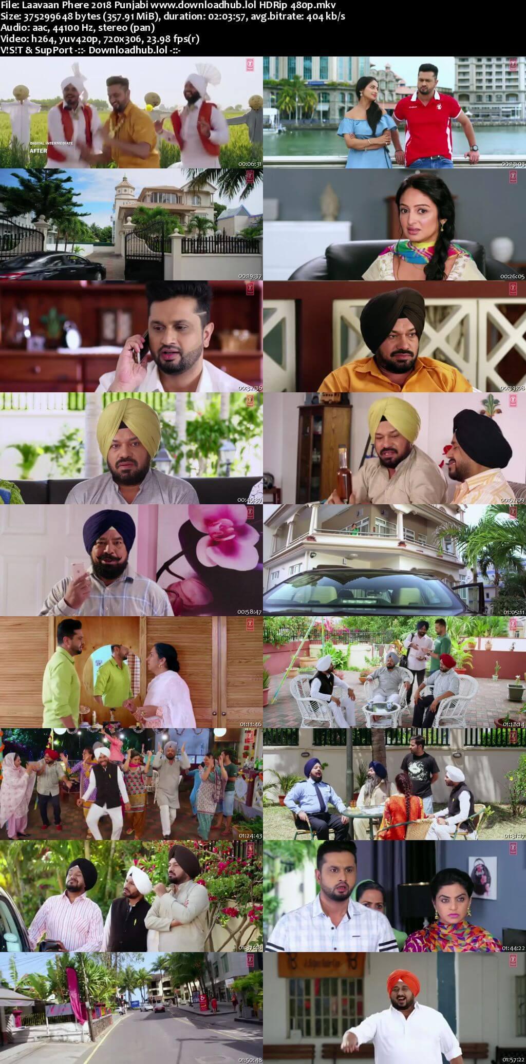 Laavaan Phere 2018 Punjabi 350MB HDRip 480p