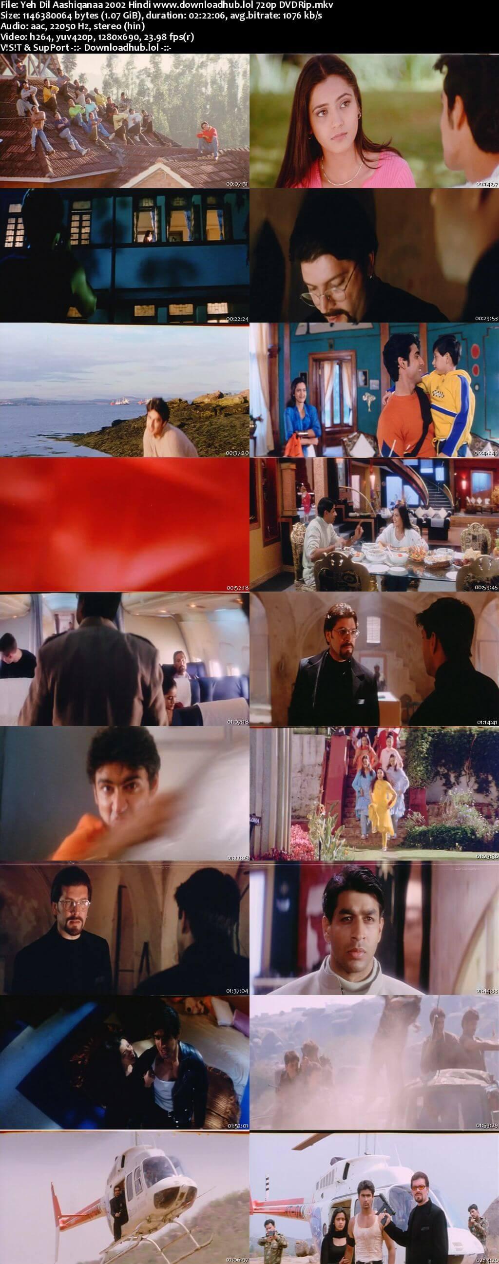 Yeh Dil Aashiqanaa 2002 Hindi 720p DVDRip x264